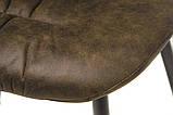 М'який стілець M-17 табако Vetro Mebel, фото 10