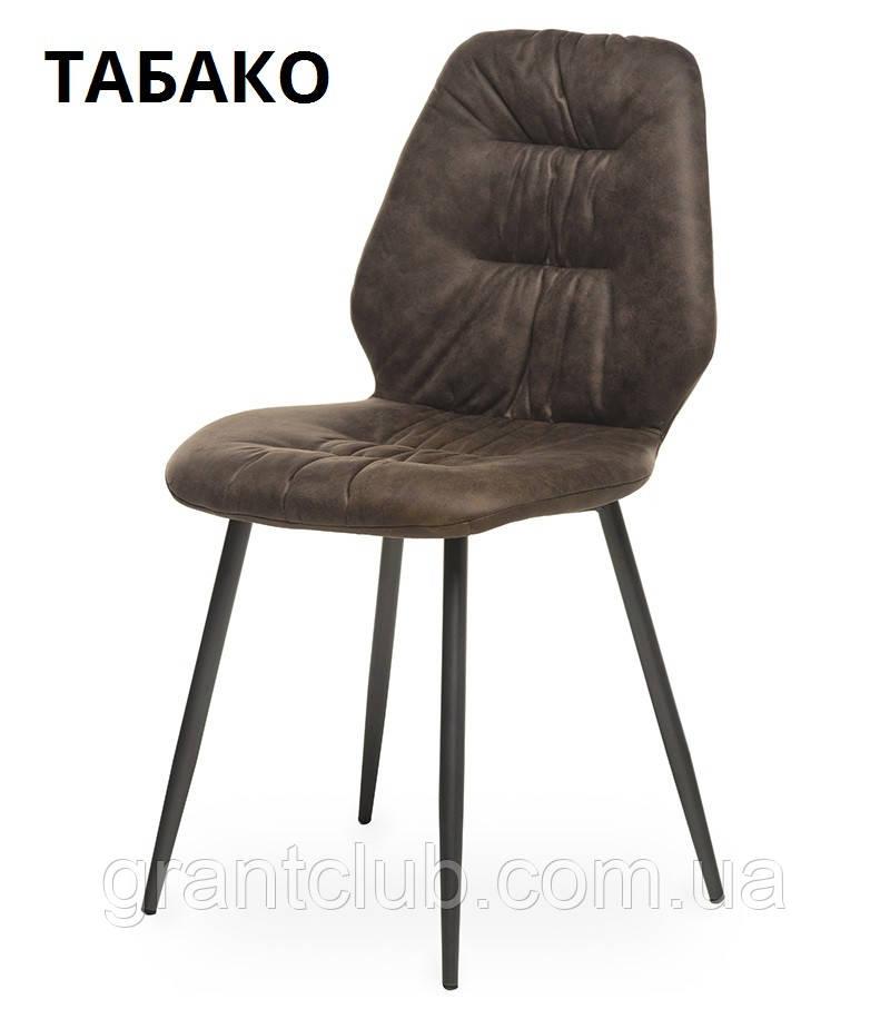 М'який стілець M-17 табако Vetro Mebel