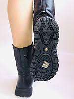Зимние ботинки на натуральном меху на широкую ногу на низкой подошве натуральная кожа.24pfm  Р.36.38.39. 40., фото 10
