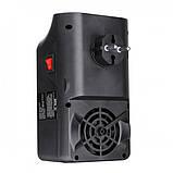 Портативний обігрівач Flame Heater New 900W з імітацією каміна, LCD-дисплеєм і пультом, фото 7