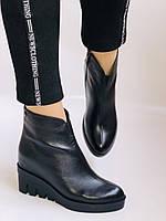 Женские ботинки. На танкетке. Натуральная кожа. Высокое качество.Erisses.  Р.36.37. Vellena, фото 2