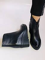 Женские ботинки. На танкетке. Натуральная кожа. Высокое качество.Erisses.  Р.36.37. Vellena, фото 10