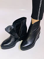 Женские ботинки. На танкетке. Натуральная кожа. Высокое качество.Erisses.  Р.36.37. Vellena, фото 9