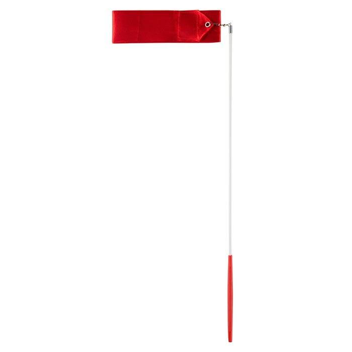 Лента гимнастическая красная 4 м