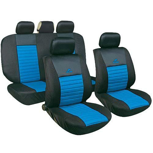 Набор чехлов MILEX Tango, полный комплект с чехлом на руль, светло-синий (AG-Т24019)