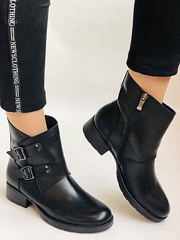 Женские ботинки. На низком каблуке. Натуральная кожа. Высокое качество. 24pfm Р. 36, 37,38, 39,40,