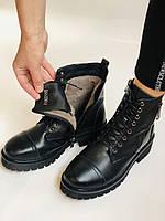 Женские ботинки. Мех шерстяной. Натуральная кожа. Высокое качество. Farinni. Р. 37 -40.Vellena, фото 10