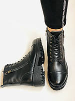 Женские ботинки. Мех шерстяной. Натуральная кожа. Высокое качество. Farinni. Р. 37 -40.Vellena, фото 9