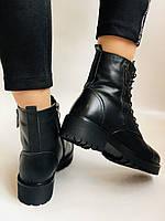 Женские ботинки. Мех шерстяной. Натуральная кожа. Высокое качество. Farinni. Р. 37 -40.Vellena, фото 5