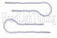 Дневные Ходовые Огни (DRL SNAKE-MATTE ) гибкие с функцией поворота 60см.