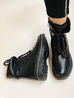 Жіночі черевики. Натуральне хутро. Натуральна шкіра. 24pfm Р. 37, 38,39,40, фото 9