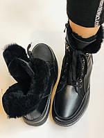 Жіночі черевики. Натуральне хутро. Натуральна шкіра. 24pfm Р. 37, 38,39,40, фото 10