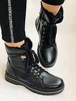 Женские ботинки. Натуральный мех. Натуральная кожа. 24pfm  Р. 37, 38,39,40, фото 3