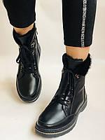Жіночі черевики. Натуральне хутро. Натуральна шкіра. 24pfm Р. 37, 38,39,40, фото 6