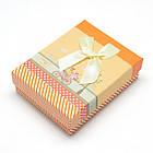Подарочная Коробочка для Украшений, с Бантиком, со Спонжем-губкой, Цвет: Микс, Размеры: 8х5х3см/ Упак.: 6 шт, фото 2