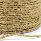 Пеньковая Бечевка Двойного Кручения, Цвет: Перу, Размер: Толщина 1мм/ Упак.: 5 м, фото 2