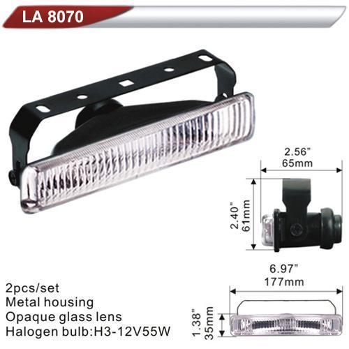 Фара дополнительная  DLAA 8070-W/H3-12V-55W/177*35mm (LA 8070-W)