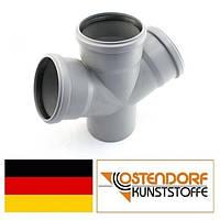Крестовина PP 110/110/110х67 внутренней канализации Ostendorf HT Германия