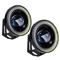 Фара доп. PL-1797 LED-2in1/12V/55W/D=85mm (PL-1797-LED), фото 1