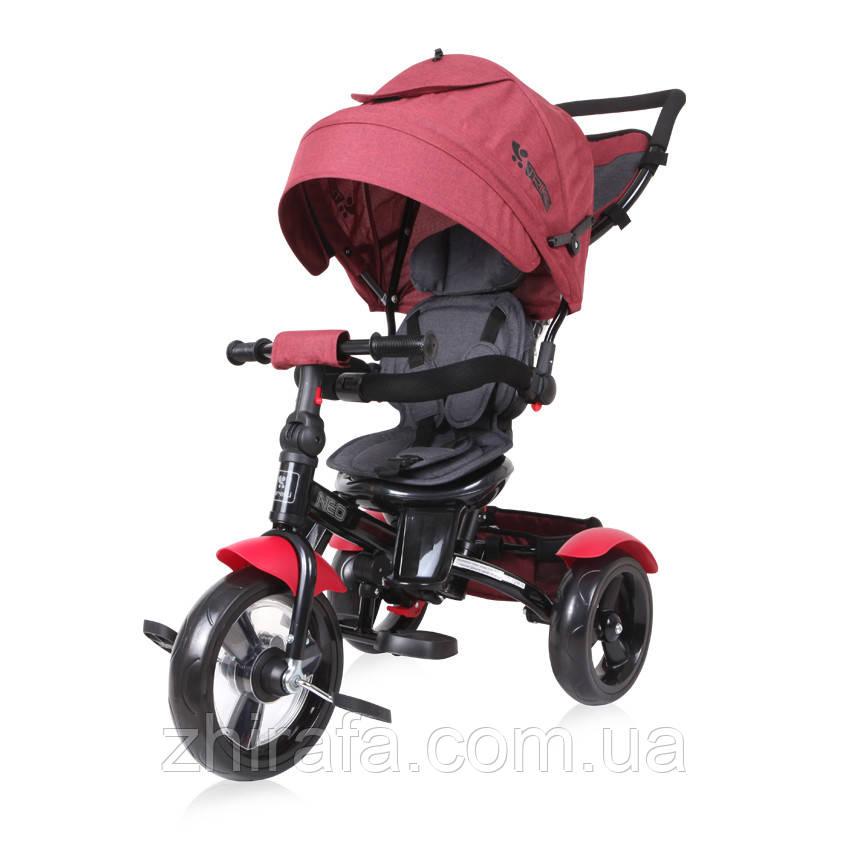 Трехколесный велосипед Lorelli Neo Черно-красный