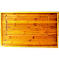 Столик для чайной церемонии бамбук 490х300х35