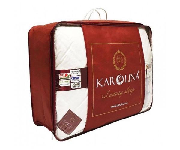 Ковдра пухова 155х215 100% білий пух касетна Luxury Sleep KAROLINA