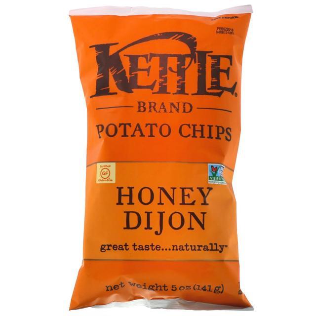 Kettle Foods, Картопляні чіпси, мед і діжонська гірчиця купити недорого в україні