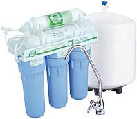 Система обратного осмоса НАША ВОДА, в фильтре ABSOLUTE MO 6-50 используется пять ступеней очистки воды + ступе