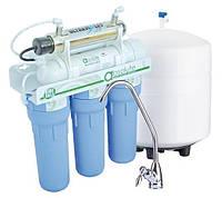 Система обратного осмоса НАША ВОДА, в фильтре ABSOLUTE MO 6-50 UV используется шесть ступеней очистки воды + У