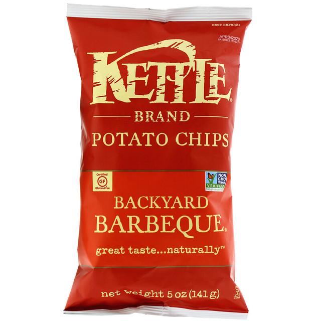 Kettle Foods, Картопляні чіпси, барбекю, 141 р купити недорого в україні