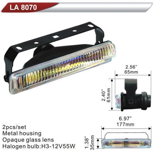 Фара дополнительная  DLAA 8070-RY/H3-12V-55W/177*35mm (LA 8070-RY)