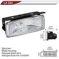 Фара дополнительная  DLAA  222-W/H3-12V-55W/125*47mm (LA 222-W)