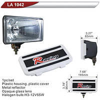 Фара дополнительная  DLAA 1042-W/H3-12V-55W/195*96mm/крышка (LA 1042-W)