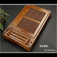 Столик для чайной церемонии бамбук , 540х335х60