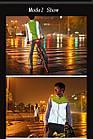 Жилет сигнальний / безрукавка світловідбиваюча RockBros FGY1001 вело дорожня ПРОДУВАЄТЬСЯ, БЕЗ ПЕРФОРАЦІЇ, фото 6