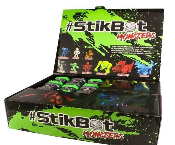 Большой набор для анимации Стикбот Stikbot Monsters