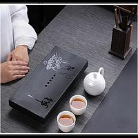 Столик камень встраиваемый для чайной церемонии , 205х40х205