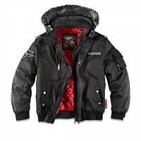 Куртка с капюшоном Dobermans Aggressive Dobermans v2 Black, фото 1