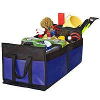 Органайзер в багажник Штурмовик АС-1536 BK/BL 600х370х250мм (АС-1536 BK/BL), фото 1
