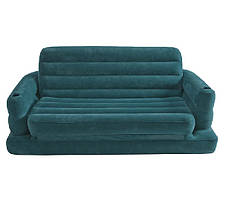 Надувной диван-трансформер Intex 68566, раскладной диван на 2 спальных места, 231 х 193 х 71, фото 3
