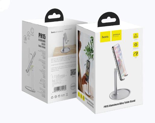 Настольная подставка для телефона или планшета 4.7-10'' Hoco Aluminum Alloy PH15