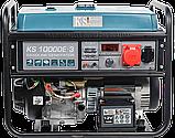 Бензиновий генератор  Könner&Söhnen KS 10000E-3, фото 2