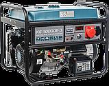 Бензиновий генератор  Könner&Söhnen KS 10000E-3, фото 5