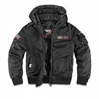 Куртка с капюшоном Dobermans Aggressive Combat 44 v2 Black, фото 1