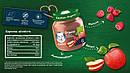 """Пюре GERBER """"Органічні яблуко і малина"""" 125 г, фото 3"""