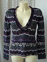Джемпер женский нарядный шерсть бренд S.Oliver р.46 4048а