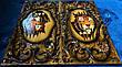 """Нарди """" Тигр vs Лев """", ручна робота, фото 3"""