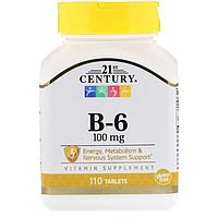 B-6 100 мг 21st Century 110 таблеток