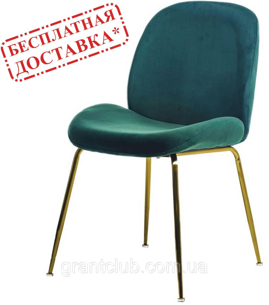 Мягкий стул M-32-3 изумруд велюр (бесплатная доставка)