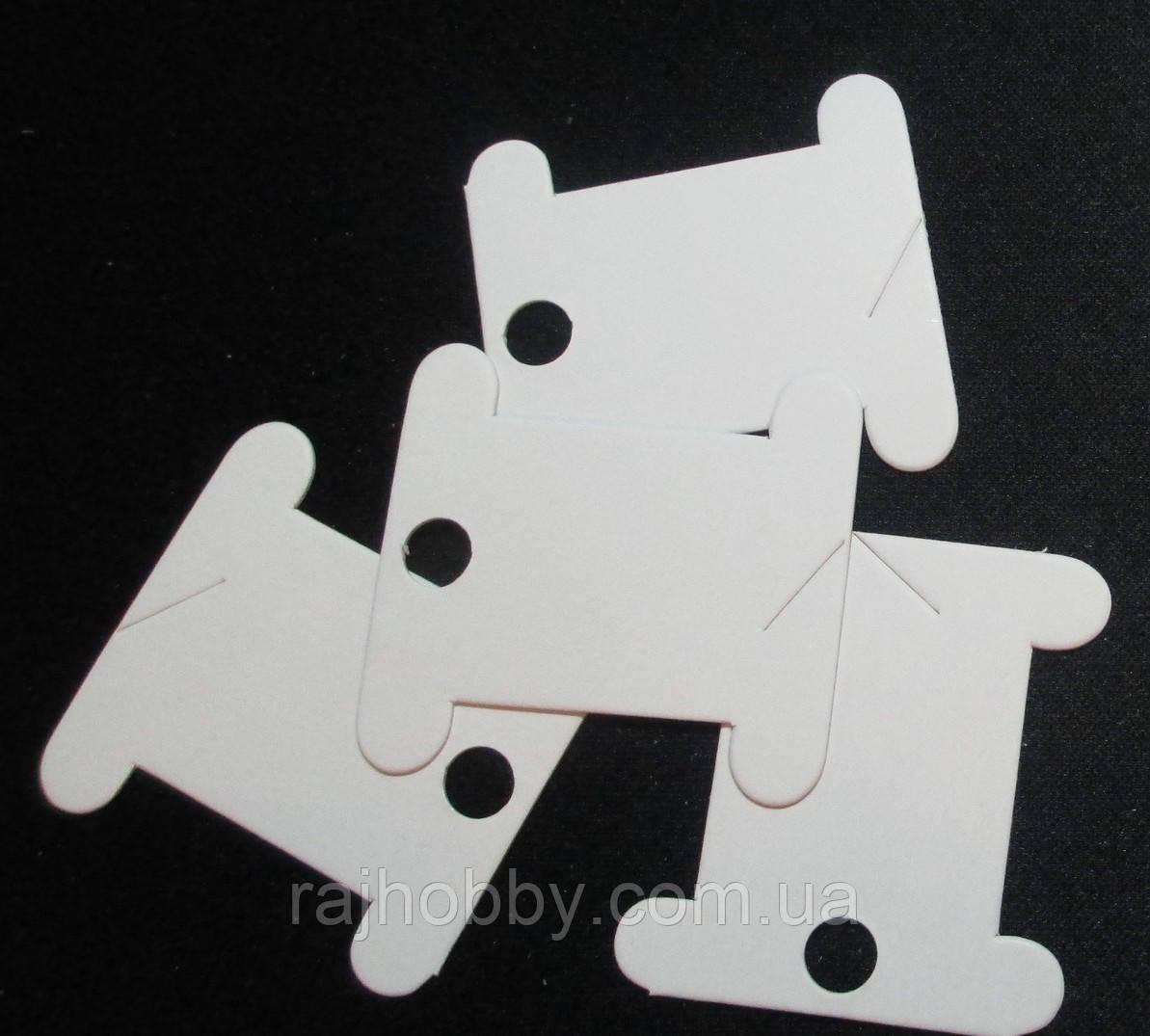 Spark Beads Бобины для мулине картонные белые 20шт